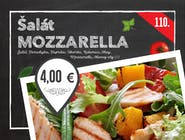 110. Mozzarella šalát