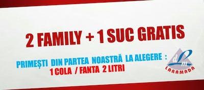 2 Family + 1 Suc Gratis