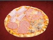 """Pizza Quattro Stagioni """"Cacciatore"""""""