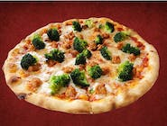 Pizza Salsicia e Broccoli