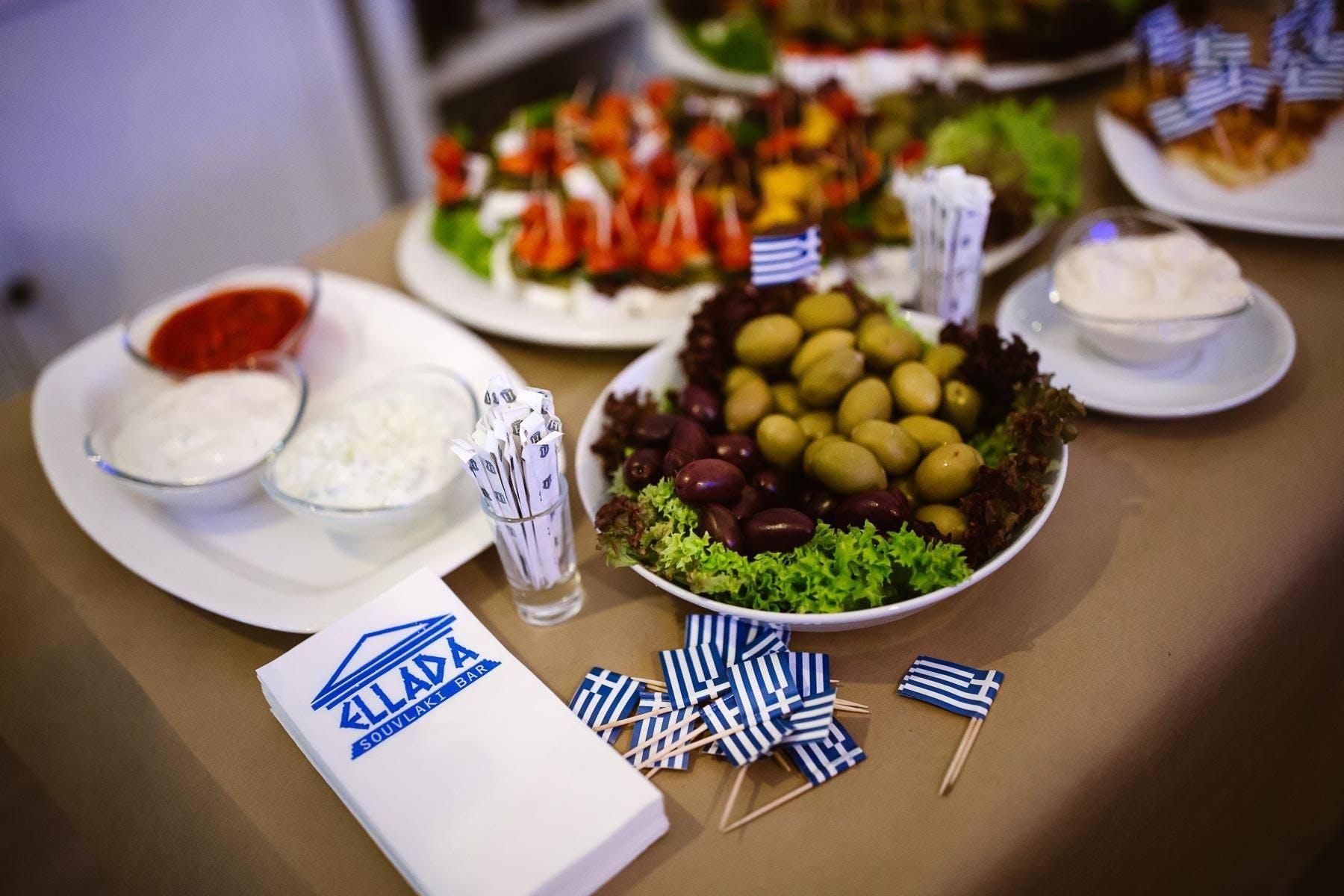 Restauracja Grecka Warszawa Ellada Souvlaki Bar