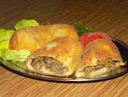 Krokiety z serem i pieczarkami /min.4szt/