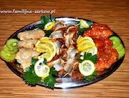 Patera nr.7 Mix Rolmopsy familijnne, Miruna w pomidorach, Miruna w occie