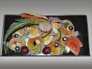 Patera nr.4 5 x galantyna drobiowa, 5 x szynka z jajkiem lub sałatką warzywną
