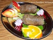 Roladka wołowa tradycyjna z boczkiem, ogórkiem i cebulką