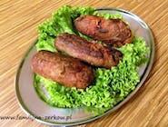 Roladka wieprzowa tradycyjna z boczkiem, ogórkiem kiszonym i cebulą