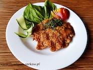 Omlet drobiowy z filetem i warzywami