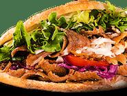 Kebab burger špeciál (1,6,7)