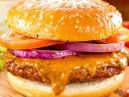 Barbecue burger (1,3,6,7,10,11)