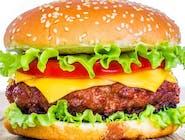 Menu barbecue burger