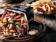 Kebab box, hranolky (1,6,7)