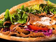 Kebab burger (1,6,7)
