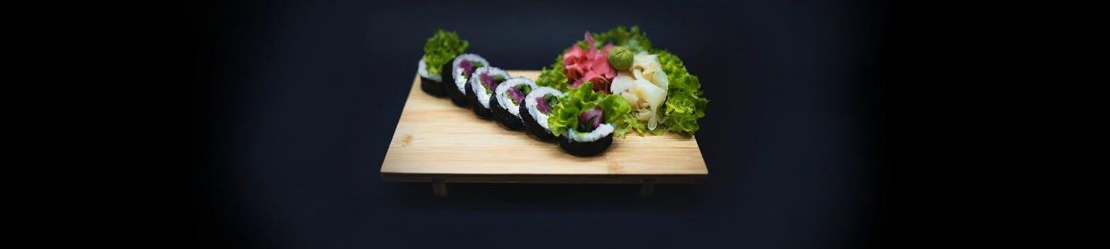 Masz ochotę na pyszne sushi? <br>Zamów już teraz!
