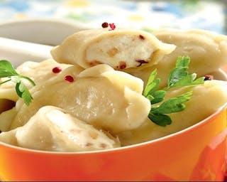 Pierogi gotowane ruskie