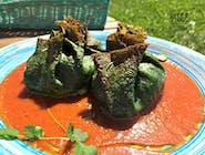 Zielone sakiewki