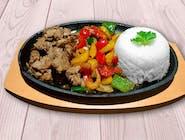 Adobo s grilovanou zeleninou