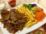 MEGA danie kebab z wołowiny