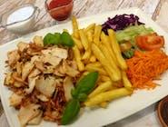 MEGA danie kebab z kurczaka