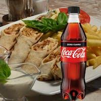 PROMOCJA: Kanapka Hamsa + Napój Coca-Cola