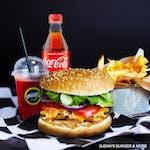 Turkish Burger Zestaw - Kebab Burger Turecki