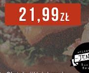 Zestaw Double Bacon Cheesburger z dużymi frytkami za 21,99 zł.