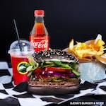 Black Jenn's Burger Zestaw