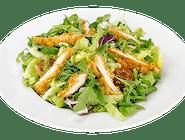 Kuřecí salát se stripsy a parmazánem