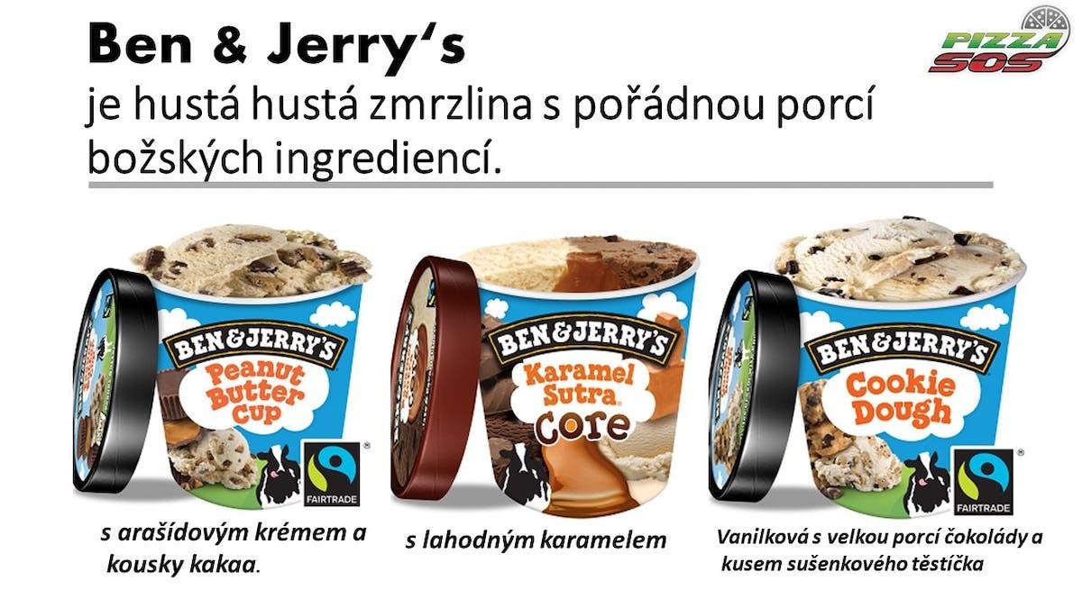 AMERICKÁ ZMRZLINA  500ml  Ben & Jerry's