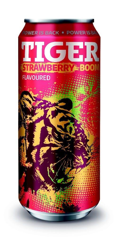 Tiger energy Jahoda 0.5l plech