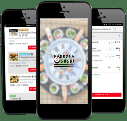 Zamawiaj Sushi przez naszą aplikację