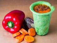 Zupa paprykowo-marchewkowa z wędzoną papryką