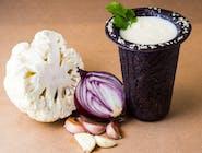 Zupa cappuccino z białych warzyw
