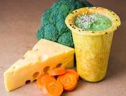 Zupa brokulowa z serem