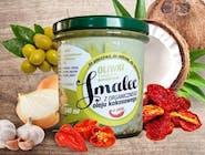Smalec z organicznego oleju kokosowego z oliwkami i suszonymi pomidorami 346 ml