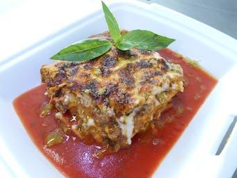 Domáce lasagne s paradajkovou omáčkou