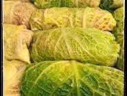 Zestaw 🥘🍽: Gołąbki z kapusty włoskiej w sosie pomidorowym z ziemniakami + Zupa