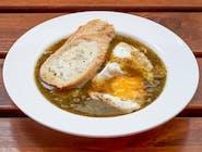 Zupa szczawiowa na wywarze warzywnym