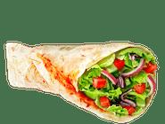 kebab wegeteriański  w cieście