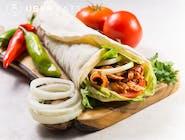 doner kebab z kurczakem lawaś