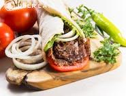 doner kebab z baraniną lawaś
