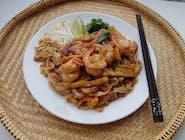 Słynny Pad Thai Kung z krewetkami  (500 g)