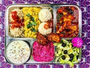 Raja menu (obsahuje: Tradičné+Gurmán, 2 šaláty, Chuťovka) 600g