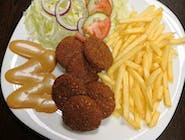 11. Falafel vegetariánsky tanier