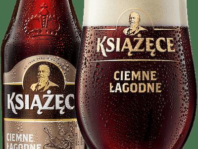 Piwo Książęce ciemne Łagodne
