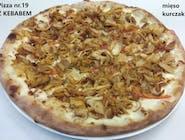 19. Pizza z kebabem (kurczak)