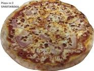 3. Pizza Spartańska
