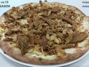 19. Pizza z kebabem (mięso mieszane)