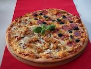 Pizza połówkowa duża