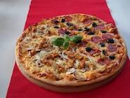 Pizza połówkowa gigant