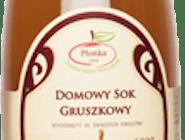 Domowy sok gruszkowy Płonka